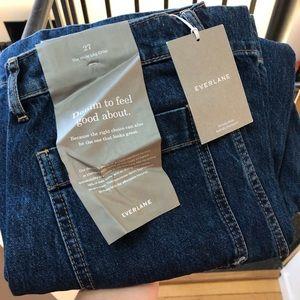 NWT Everlane denim drop 02 wide leg jeans